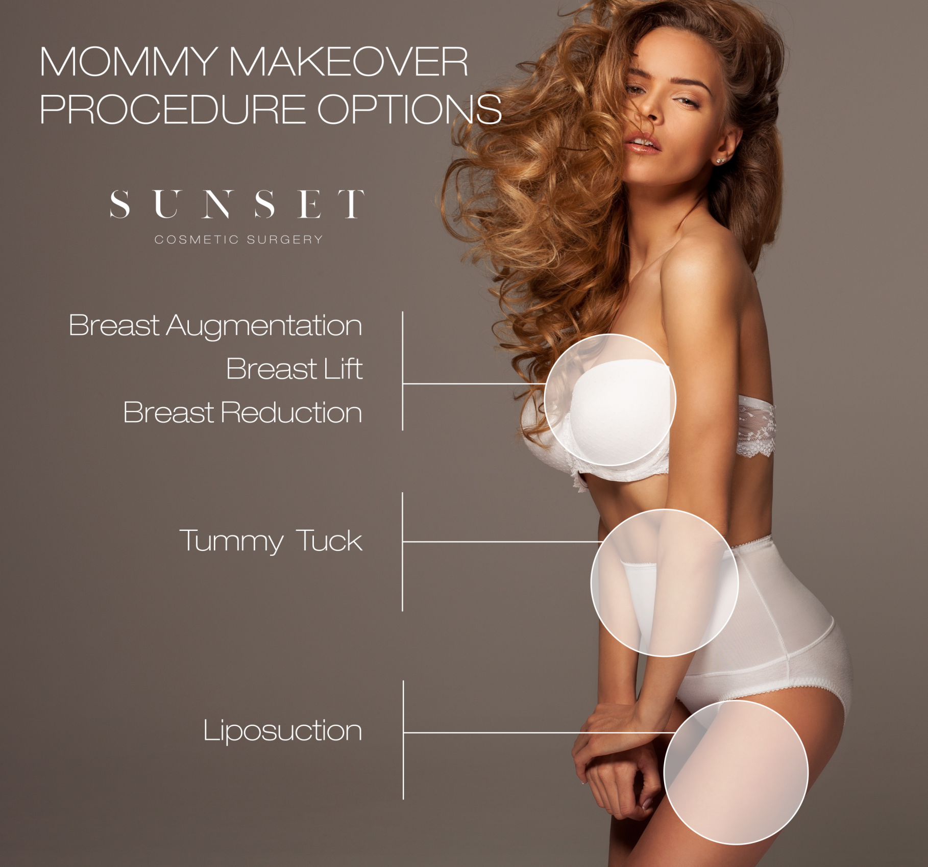 Mommy Makeover Procedure Options smaller